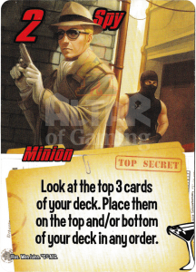Spy - Smash Up Card - Super Spies | Altar of Gaming