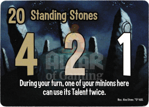Standing Stones - Smash Up Card - Werewolves | Altar of Gaming