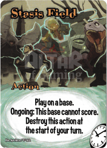 Stasis Field - Smash Up Card - Time Travelers | Altar of Gaming
