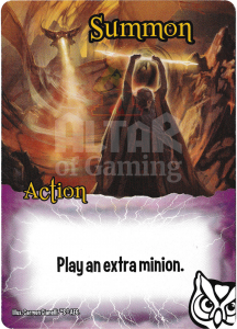 Summon - Smash Up Card - Wizards | Altar of Gaming
