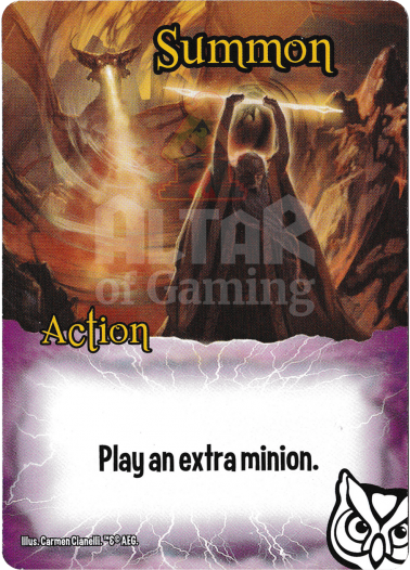 Summon - Wizards - Smash Up Card | Altar of Gaming