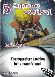 Supreme Overlord - Smash Up Card - Aliens | Altar of Gaming