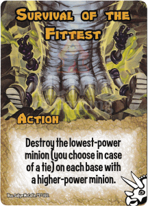 Survival of the Fittest - Smash Up Card - Dinosaurs | Altar of Gaming