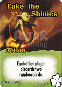 Take the Shinies - Smash Up Card - Tricksters | Altar of Gaming