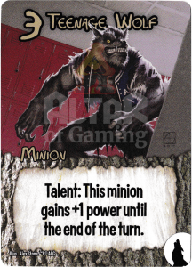 Teenage Wolf - Smash Up Card - Werewolves | Altar of Gaming