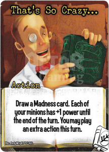 That's So Crazy… - Smash Up Card - Miskatonic University | Altar of Gaming