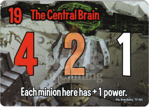 The Central Brain - Smash Up Card - Robots | Altar of Gaming