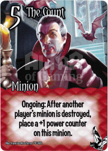 The Count - Smash Up Card - Vampires | Altar of Gaming