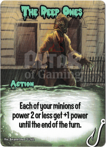 The Deep Ones - Smash Up Card - Innsmouth | Altar of Gaming