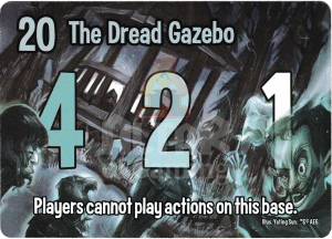 The Dread Gazebo - Smash Up Card - Ghosts | Altar of Gaming