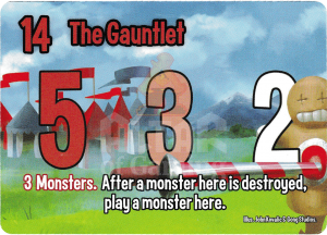 The Gauntlet - Smash Up Card - Warriors | Altar of Gaming