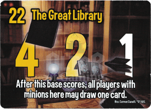 The Great Library - Smash Up Card - Wizards | Altar of Gaming