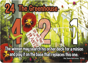 The Greenhouse - Smash Up Card - Killer Plants | Altar of Gaming