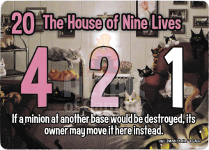 The House of Nine Lives - Smash Up Card - Kitty Cats | Altar of Gaming