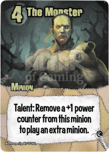 The Monster - Smash Up Card - Mad Scientists   Altar of Gaming