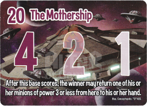 The Mothership - Smash Up Card - Aliens | Altar of Gaming