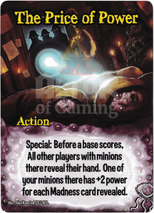 The Price of Power - Smash Up Card - Elder Things | Altar of Gaming