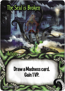 The Seal is Broken - Smash Up Card - Minions of Cthulhu | Altar of Gaming
