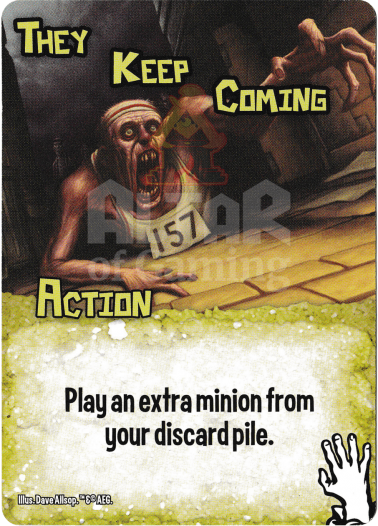 They Keep Coming - Zombies - Smash Up Card | Altar of Gaming