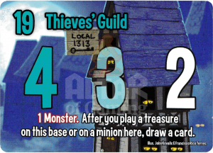 Thieves' Guild - Smash Up Card - Thieves   Altar of Gaming