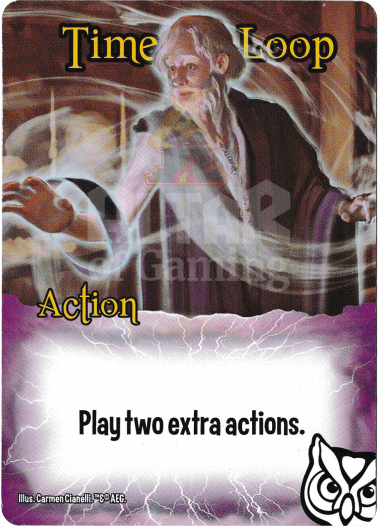 Time Loop - Wizards - Smash Up Card | Altar of Gaming