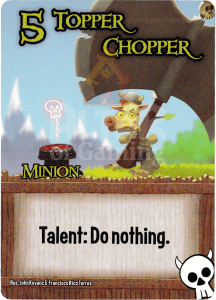 Topper Chopper - Smash Up Card - Orcs | Altar of Gaming