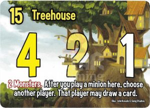 Treehouse - Smash Up Card - Elves | Altar of Gaming