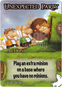 Unexpected Party - Smash Up Card - Halflings   Altar of Gaming