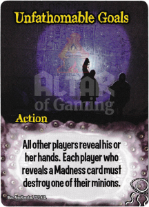 Unfathomable Goals - Smash Up Card - Elder Things | Altar of Gaming