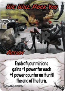 We Will Rock You - Smash Up Card - Giant Ants | Altar of Gaming