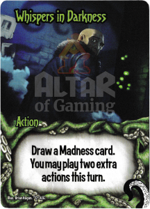 Whispers in Darkness - Smash Up Card - Minions of Cthulhu | Altar of Gaming