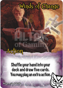 Winds of Change - Smash Up Card - Wizards | Altar of Gaming