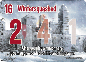 Wintersquashed - Smash Up Card - Ignobles | Altar of Gaming