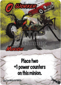 Worker - Smash Up Card - Giant Ants | Altar of Gaming